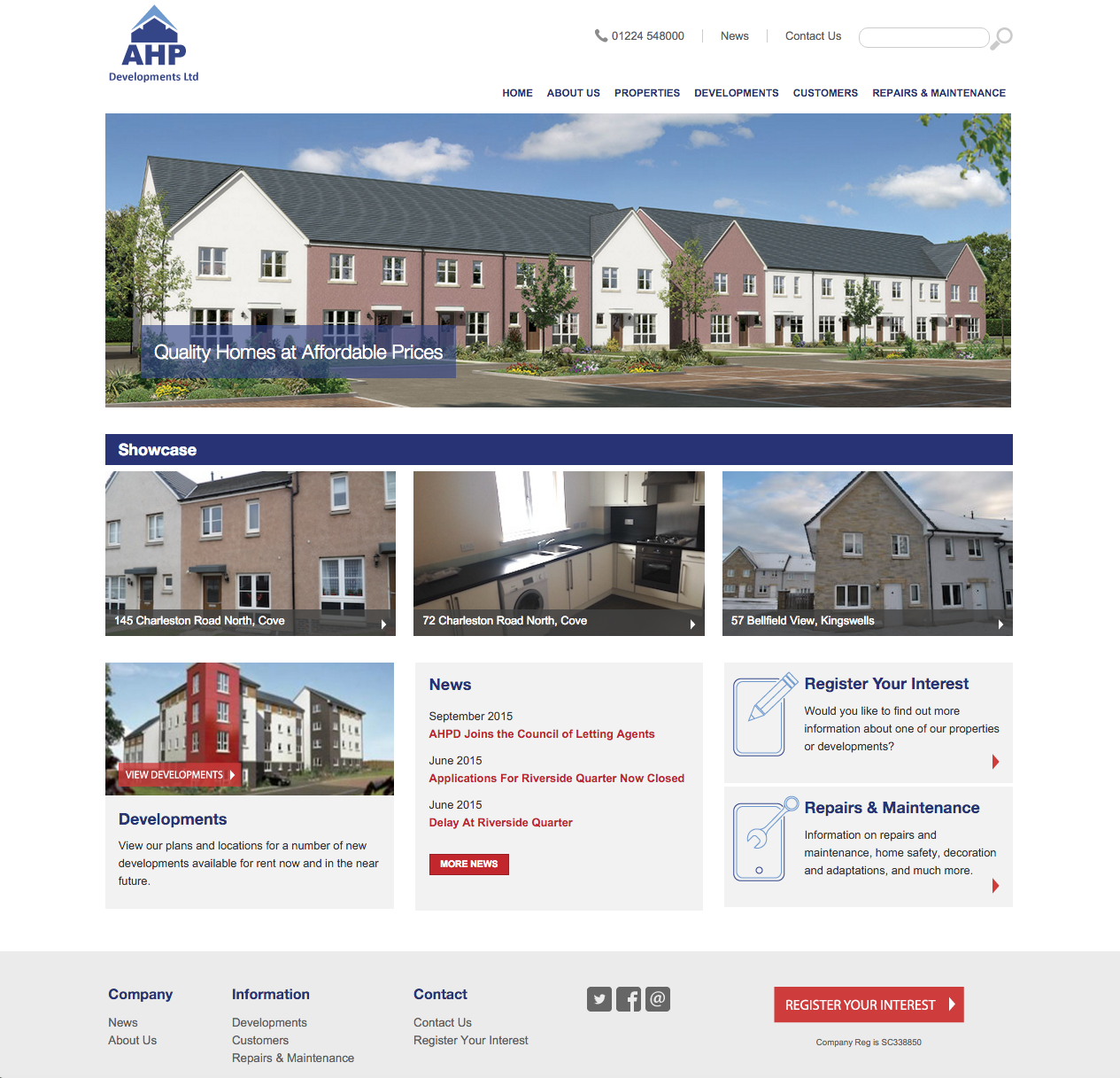 AHP Developments