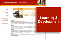 Image relating to 'Learning and Development - Corporate Portal' project