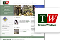 Image relating to 'Tayside Windows' project