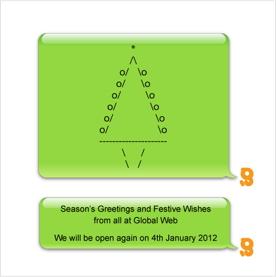 e-Card Christmas Card 2011