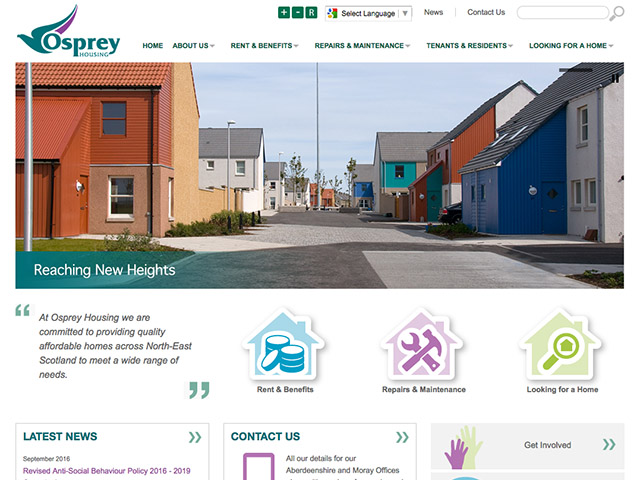 AHP Rebranding to Osprey Housing