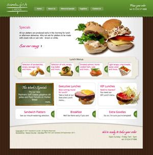 Sandwich Larder Web Site